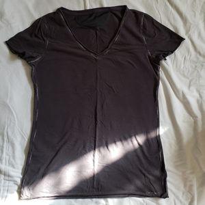 Calvin Klein gray top Medium